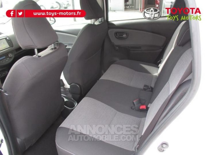 Toyota YARIS HSD 100h Attitude 5p BLANC Occasion - 9