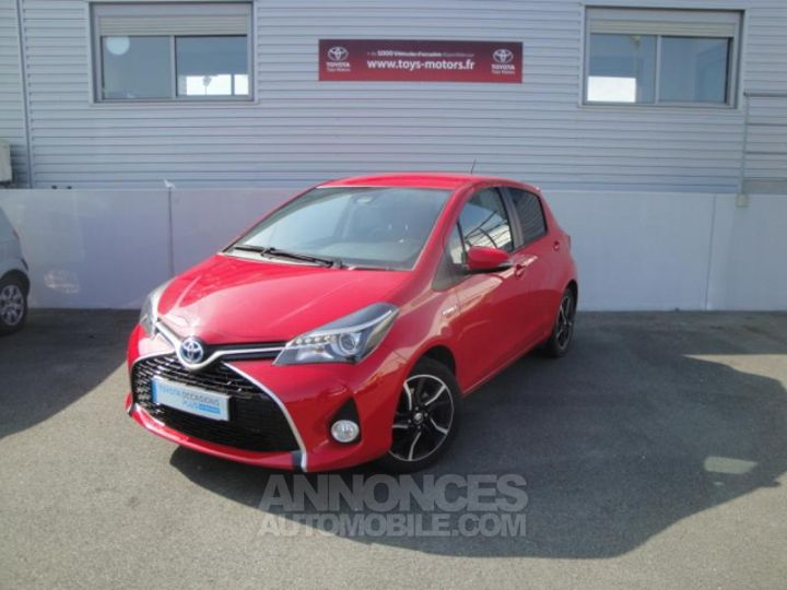 Toyota YARIS HSD 100h Design 5p ROUGE Occasion - 1