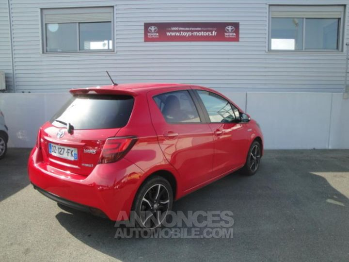 Toyota YARIS HSD 100h Design 5p ROUGE Occasion - 4