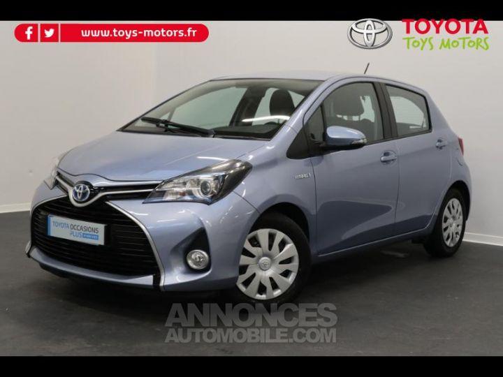 Toyota YARIS HSD 100h Dynamic 5p BLEU GLACIER Occasion - 1