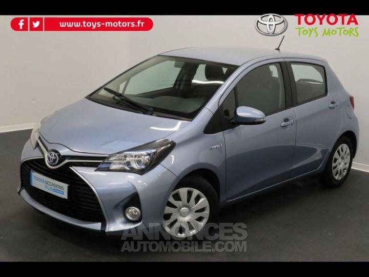Toyota YARIS HSD 100h Dynamic 5p BLEU GLACIER Occasion - 2