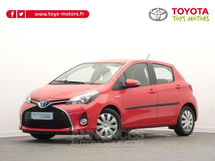 Toyota YARIS HSD 100h Dynamic 5p Rouge chillien Occasion - 1