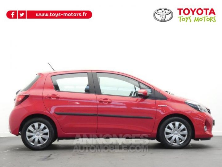 Toyota YARIS HSD 100h Dynamic 5p Rouge chillien Occasion - 2