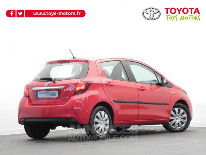 Toyota YARIS HSD 100h Dynamic 5p Rouge chillien Occasion - 3