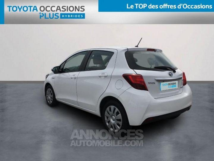 Toyota YARIS HSD 100h Dynamic 5p Blanc Occasion - 2