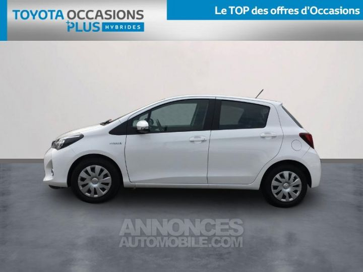 Toyota YARIS HSD 100h Dynamic 5p Blanc Occasion - 3