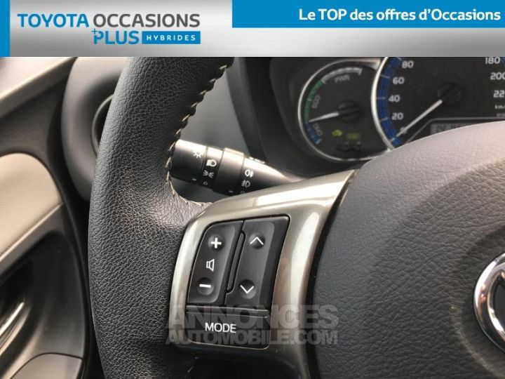 Toyota YARIS HSD 100h Dynamic 5p Blanc Occasion - 10