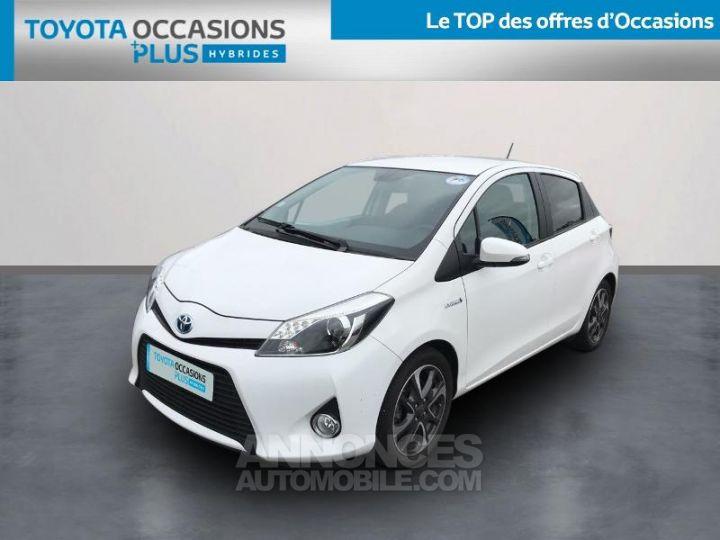 Toyota YARIS HSD 100h Graphic 5p Blanc Occasion - 1