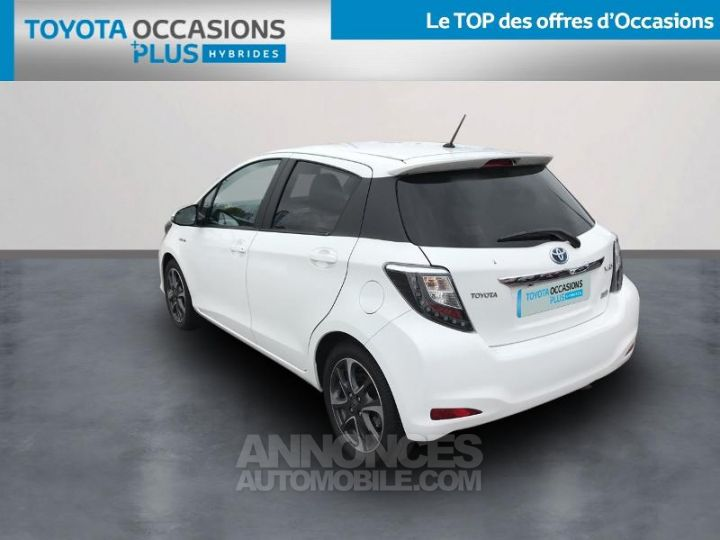 Toyota YARIS HSD 100h Graphic 5p Blanc Occasion - 2
