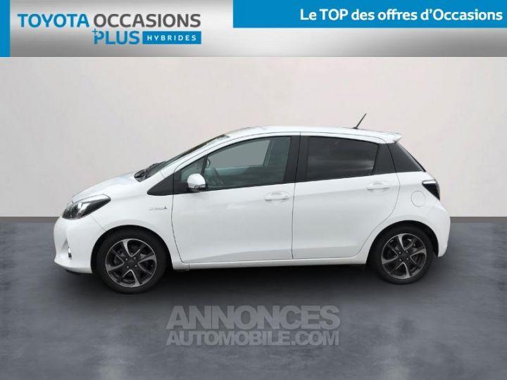 Toyota YARIS HSD 100h Graphic 5p Blanc Occasion - 3