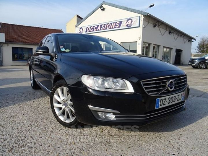 Volvo S80 D4 181CH SUMMUM GEARTRONIC NOIR Occasion - 1