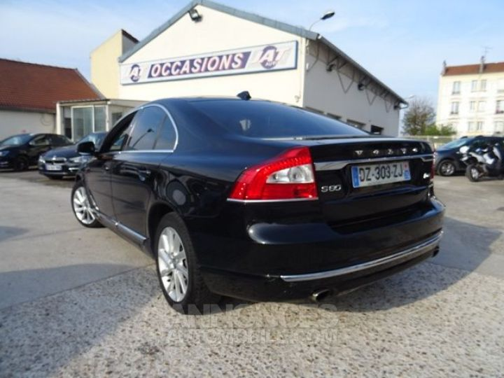Volvo S80 D4 181CH SUMMUM GEARTRONIC NOIR Occasion - 9