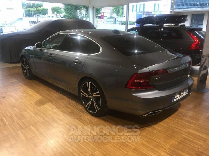 Volvo S90 D4 190ch R-Design Geartronic Gris Osmium Metallise Occasion - 3