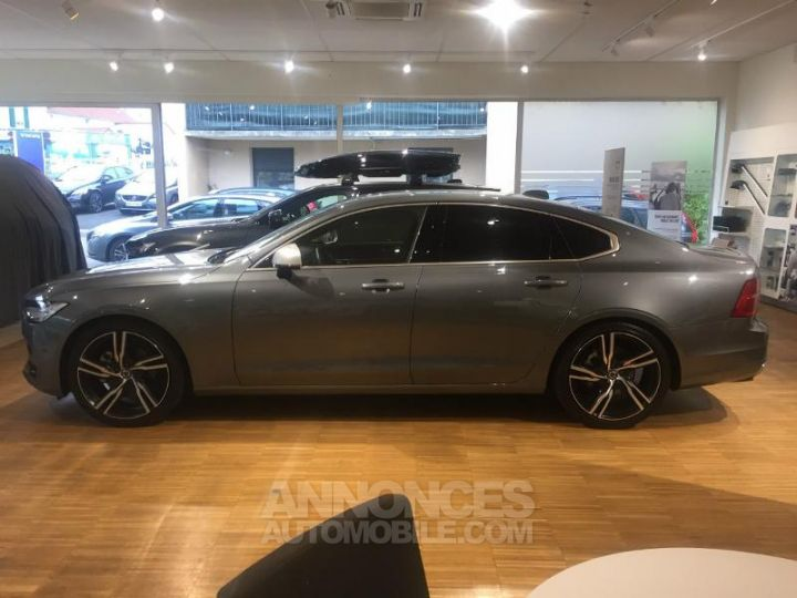 Volvo S90 D4 190ch R-Design Geartronic Gris Osmium Metallise Occasion - 4