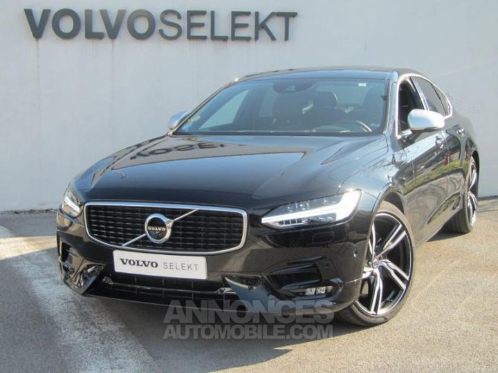 Volvo S90 D4 190ch R-Design Geartronic Noir Onyx Occasion - 1