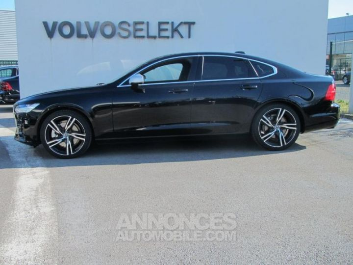 Volvo S90 D4 190ch R-Design Geartronic Noir Onyx Occasion - 3