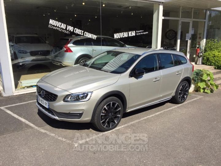 Volvo V60 D4 190ch Summum Geartronic SABLE LUMINEUX Occasion - 1