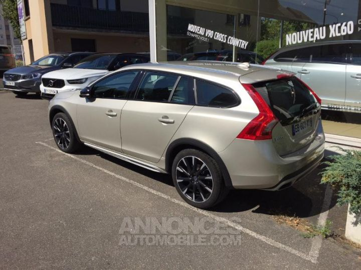 Volvo V60 D4 190ch Summum Geartronic SABLE LUMINEUX Occasion - 3