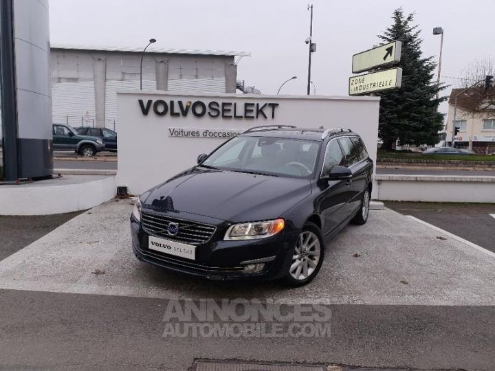 Volvo V70 D5 215ch Summum Geartronic Gris Savile Perle 492 sa Occasion - 1