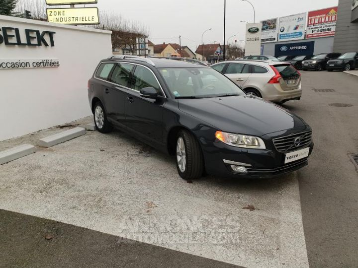 Volvo V70 D5 215ch Summum Geartronic Gris Savile Perle 492 sa Occasion - 3
