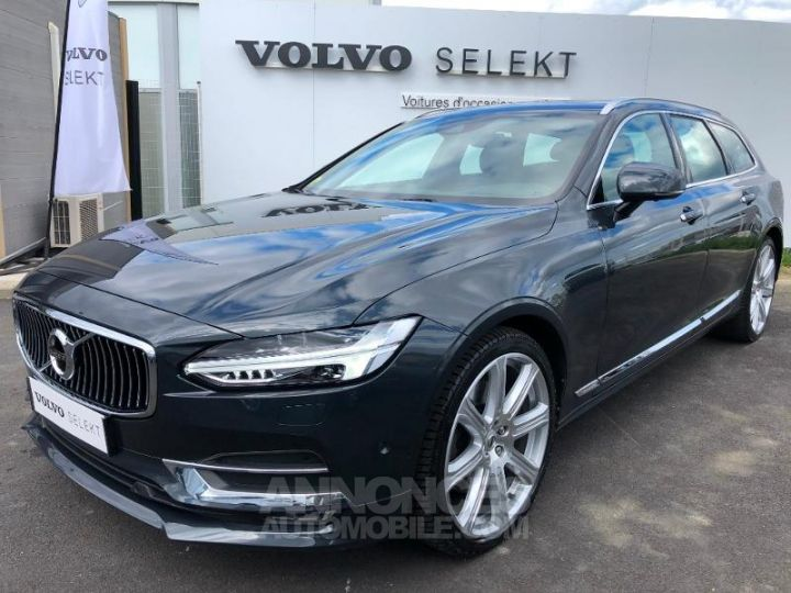 Volvo V90 D5 AWD 235ch Inscription Geartronic GRIS SAVILLE Occasion - 1