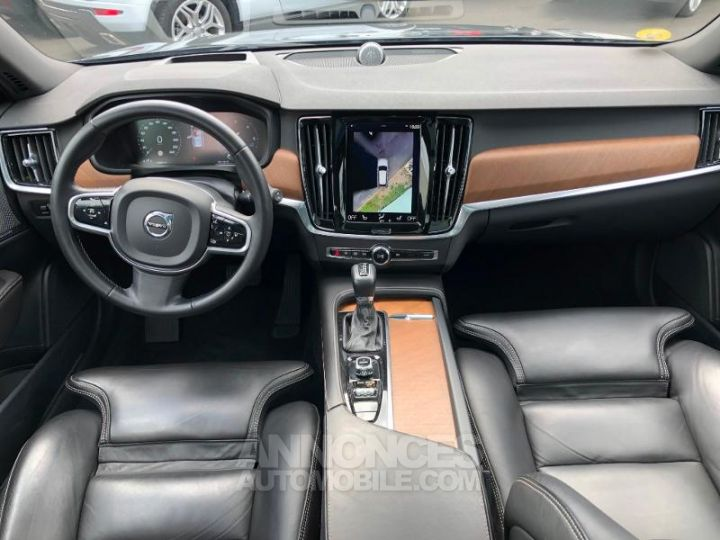 Volvo V90 D5 AWD 235ch Inscription Geartronic GRIS SAVILLE Occasion - 4