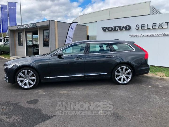 Volvo V90 D5 AWD 235ch Inscription Geartronic GRIS SAVILLE Occasion - 7