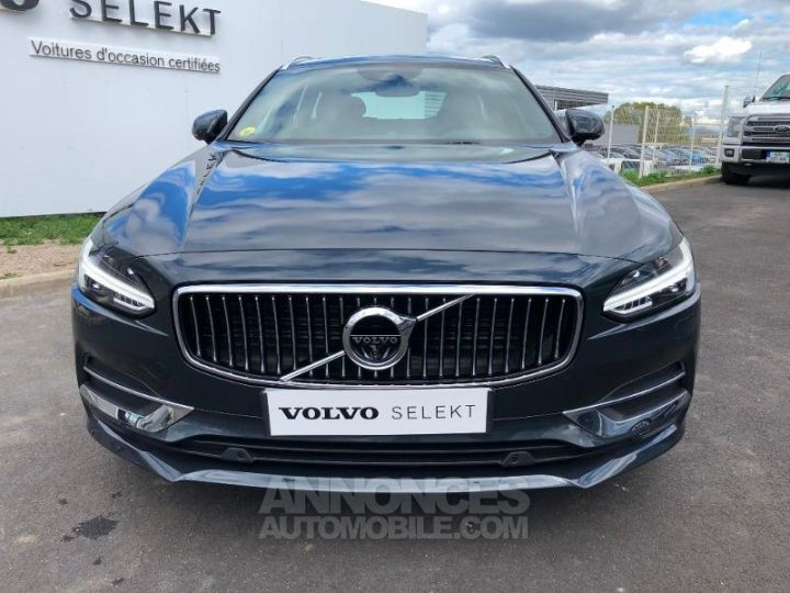 Volvo V90 D5 AWD 235ch Inscription Geartronic GRIS SAVILLE Occasion - 8