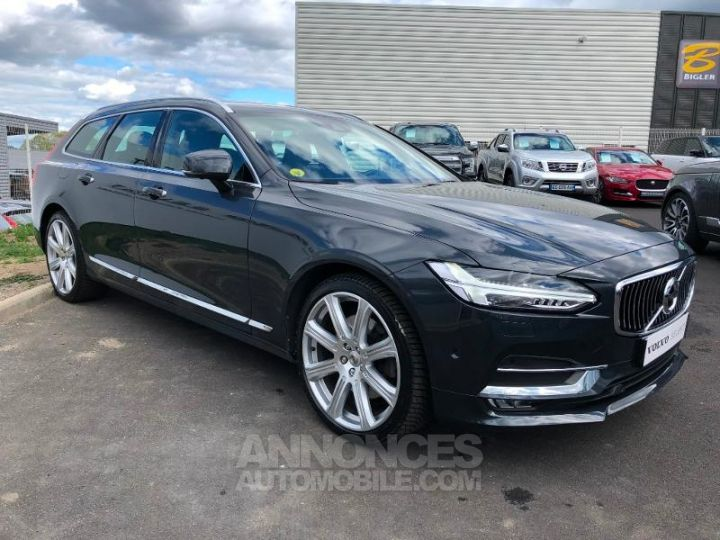 Volvo V90 D5 AWD 235ch Inscription Geartronic GRIS SAVILLE Occasion - 9