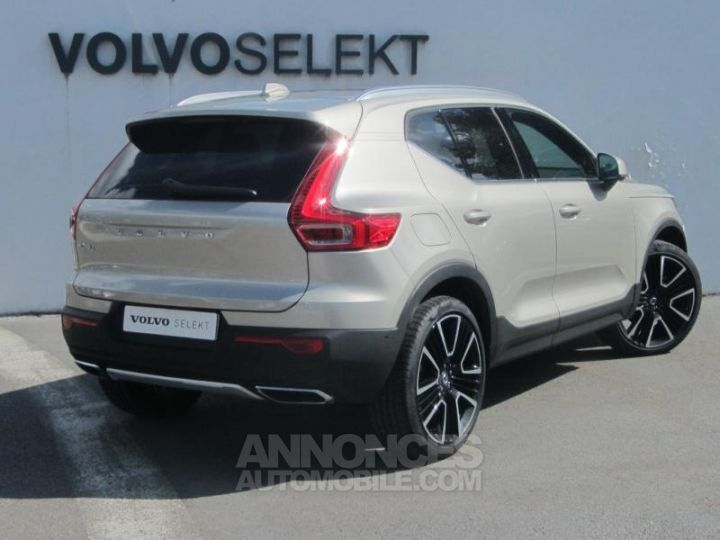 Volvo XC40 D4 AdBlue AWD 190ch Inscription Luxe Geartronic 8 Sable lumineux Occasion - 2
