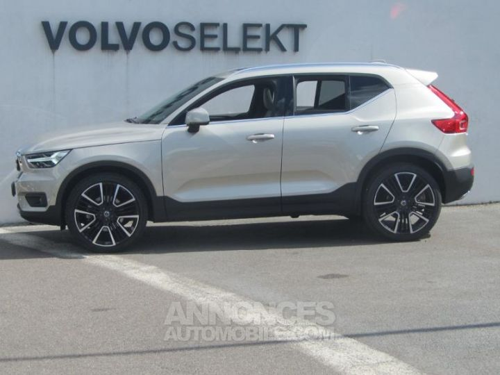 Volvo XC40 D4 AdBlue AWD 190ch Inscription Luxe Geartronic 8 Sable lumineux Occasion - 3
