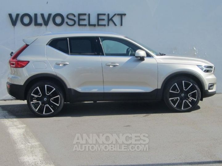 Volvo XC40 D4 AdBlue AWD 190ch Inscription Luxe Geartronic 8 Sable lumineux Occasion - 4