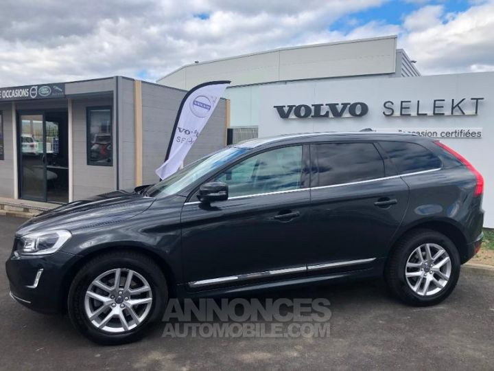 Volvo XC60 D4 190ch Summum Geartronic GRIS Occasion - 6