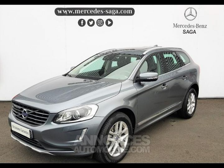 Volvo XC60 D4 190ch Xenium Geartronic GRIS FONCE Occasion - 1