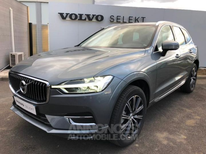 Volvo XC60 D4 AdBlue AWD 190ch Inscription Geartronic GRIS OSMIUM Occasion - 1