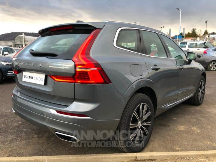 Volvo XC60 D4 AdBlue AWD 190ch Inscription Geartronic GRIS OSMIUM Occasion - 2