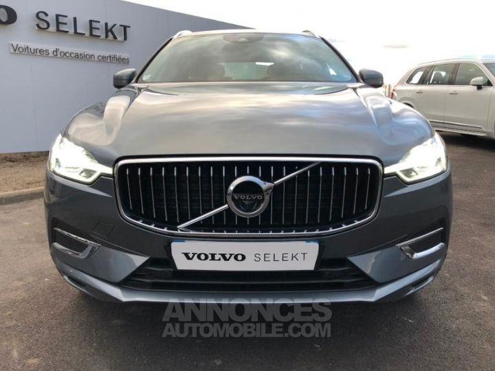Volvo XC60 D4 AdBlue AWD 190ch Inscription Geartronic GRIS OSMIUM Occasion - 7