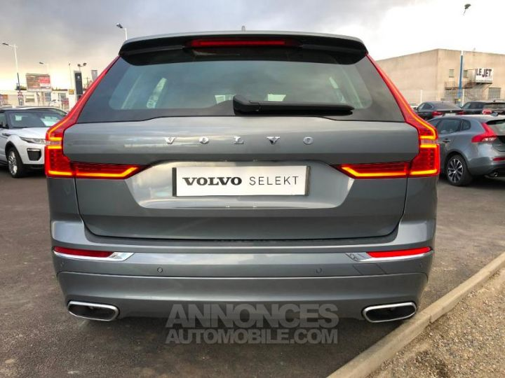 Volvo XC60 D4 AdBlue AWD 190ch Inscription Geartronic GRIS OSMIUM Occasion - 9
