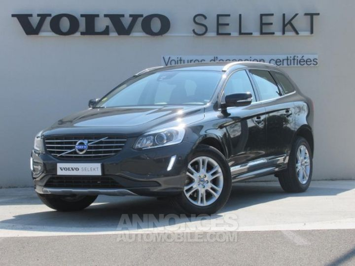 Volvo XC60 D4 AWD 181ch Summum Geartronic GRIS C Occasion - 1