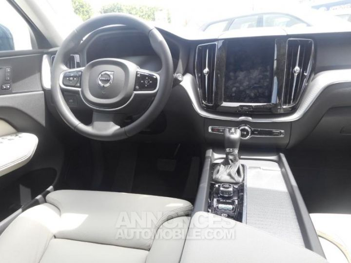 Volvo XC60 D5 AdBlue AWD 235ch Inscription Luxe Geartronic 723 BLEU DENIM METALLISE Occasion - 2