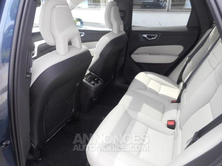 Volvo XC60 D5 AdBlue AWD 235ch Inscription Luxe Geartronic 723 BLEU DENIM METALLISE Occasion - 8
