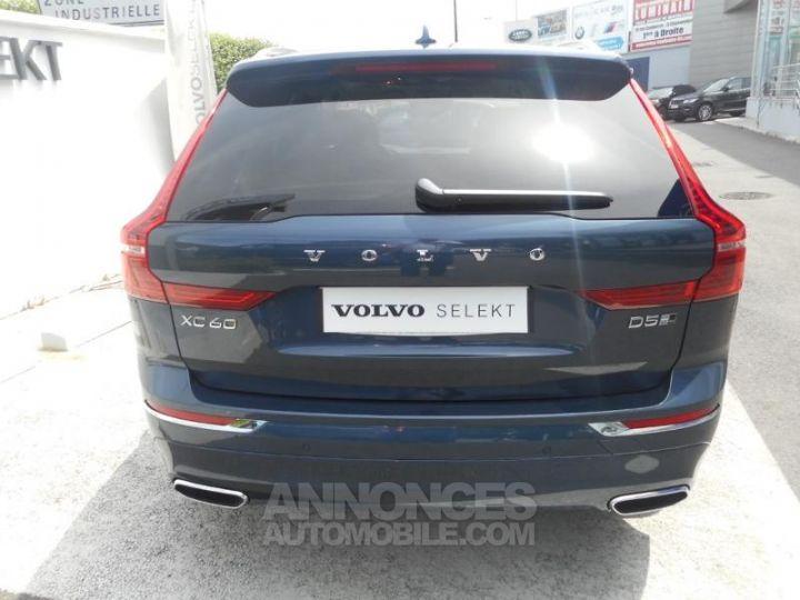 Volvo XC60 D5 AdBlue AWD 235ch Inscription Luxe Geartronic 723 BLEU DENIM METALLISE Occasion - 10