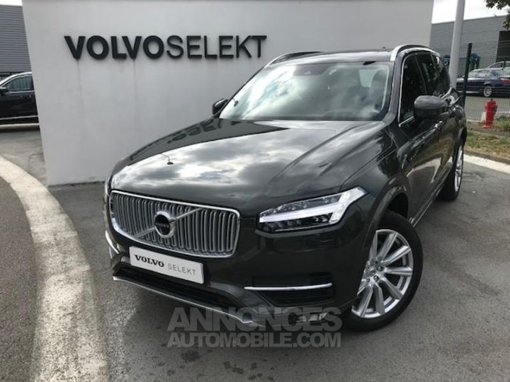 Volvo XC90 D5 AdBlue AWD 235ch Inscription Luxe Geartronic 724 GRIS EPICEA Occasion - 1