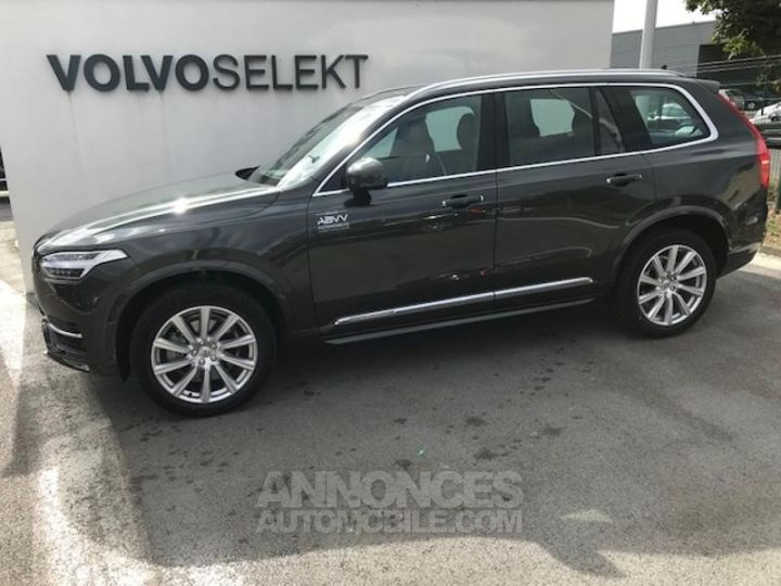 Volvo XC90 D5 AdBlue AWD 235ch Inscription Luxe Geartronic 724 GRIS EPICEA Occasion - 2