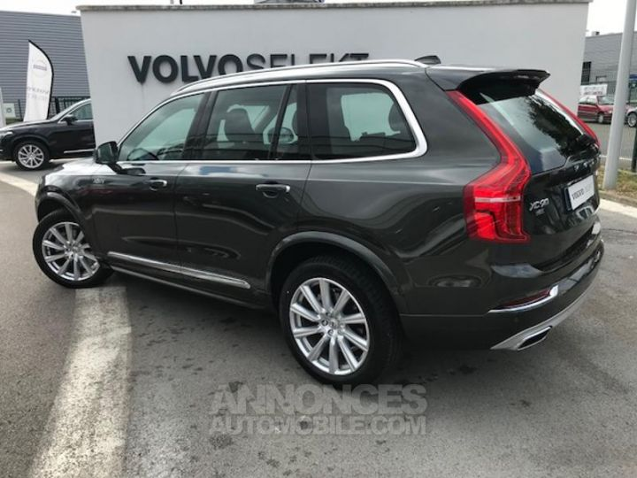 Volvo XC90 D5 AdBlue AWD 235ch Inscription Luxe Geartronic 724 GRIS EPICEA Occasion - 3