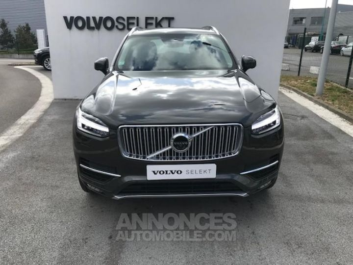Volvo XC90 D5 AdBlue AWD 235ch Inscription Luxe Geartronic 724 GRIS EPICEA Occasion - 4