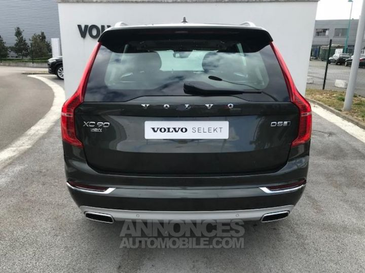 Volvo XC90 D5 AdBlue AWD 235ch Inscription Luxe Geartronic 724 GRIS EPICEA Occasion - 5