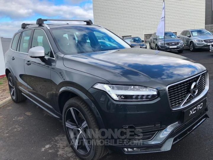 volvo xc90 d5 adblue awd 235ch r design geartronic 7 places gris savile occasion aubi re puy. Black Bedroom Furniture Sets. Home Design Ideas