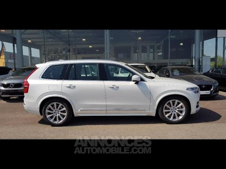 Volvo XC90 D5 AWD AdBlue 235ch Inscription Luxe Geartronic 7 places blanc cristal Neuf - 2