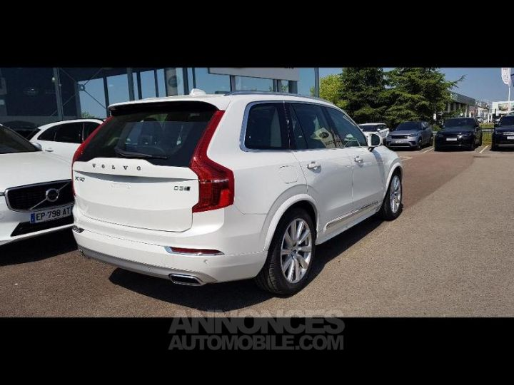 Volvo XC90 D5 AWD AdBlue 235ch Inscription Luxe Geartronic 7 places blanc cristal Neuf - 3